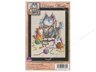 weekly special tasting: Design Works Cross Stitch Kit 5 x 7 in. Yarn Cats