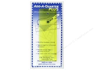 add a quarter: CM Designs Add-A-Quarter Ruler Plus 6 in.