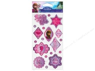 stickers: EK Disney Sticker Epoxy Phrases Anna