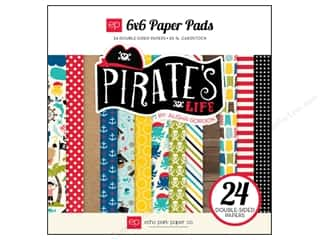 Echo Park Paper Company: Echo Park Paper Pad 6 x 6 in. Pirates Life