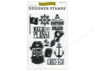 Clearance Plaid Stamps Clear: Echo Park Clear Stamp Set Ahoy Mateys