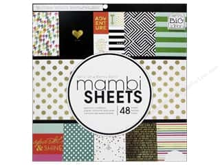 Me & My Big Ideas Sheets Cardstock Pad 12 x 12 in. Big City Brights
