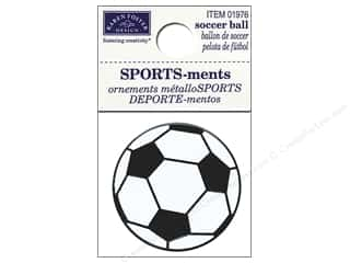 Karen Foster: Karen Foster Sticker Sports-ment Soccer Ball