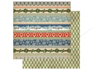 Winter Wonderland Printed Cardstock: Carta Bella 12 x 12 in. Paper Christmas Wonderland Christmas Now And Then (25 sheets)