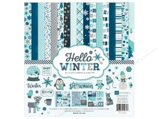 Weekly Specials Echo Park Collection Kit: Echo Park 12 x 12 in. Collection Kit Hello Winter