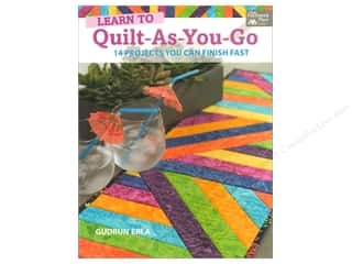 books & patterns: That Patchwork Place Learn to Quilt-As-You-Go Book