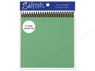 cardstock: Doodle Pad by Paper Accents 6 x 6 in. Green/Red