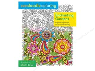 Journal & Gift Books: St Martin's Griffin Zendoodle Enchanting Garden Book