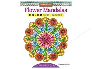 books & patterns: Design Originals Flower Mandalas Coloring Book