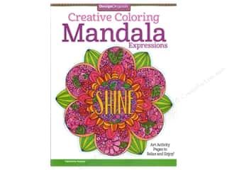 books & patterns: Design Originals Mandala Expressions Coloring Book
