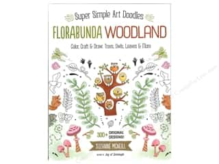 books & patterns: Design Originals Florabunda Woodland Super Simple Art Doodles Book