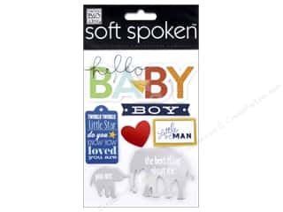 Me & My Big Ideas Soft Spoken Stickers Little Man Baby Boy