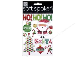 Me & My Big Ideas Soft Spoken Stickers Jolly Santa