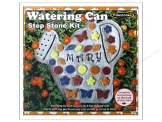 Milestones Stepping Stone Kit 8 in. Watering Can