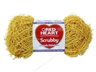 C: Red Heart Scrubby Yarn #241 Duckie 92 yds.