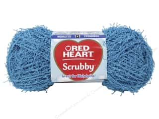 C: Red Heart Scrubby Yarn #501 Ocean 92 yds.