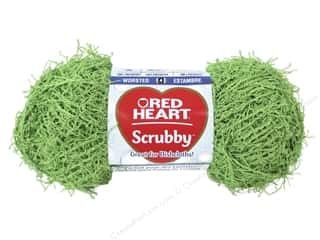 Red Heart Yarn: Red Heart Scrubby Yarn #620 Lime 92 yds.