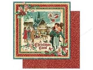 fall sale graphic 45: Graphic 45 Collection Christmas Carol Paper 12x12 Christmas Carol (25 sheets)