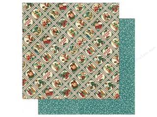 fall sale graphic 45: Graphic 45 Collection Christmas Carol Paper 12x12 Yuletide Greetings (25 sheets)
