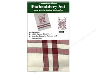 Dunroven House Towel Embroidery Set Home