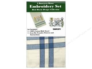 Dunroven House Towel Embroidery Set Simplify