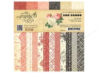 """Weekly Specials Graphic 45 Paper Pad: Graphic 45 Collection Mon Amour Paper Pad 6""""x 6"""""""