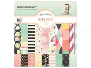 Best of 2012 Bo Bunny Paper & Sticker Collection Pack: Bo Bunny 12 x 12 in. Collection Pack You're Invited