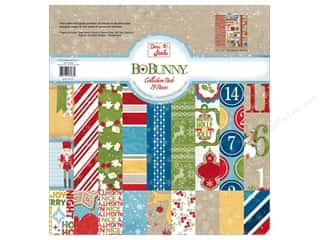 Best of 2012 Bo Bunny Paper & Sticker Collection Pack: Bo Bunny 12 x 12 in. Collection Pack Dear Santa