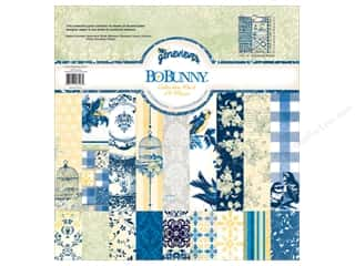 Best of 2012 Bo Bunny Paper & Sticker Collection Pack: Bo Bunny 12 x 12 in. Collection Pack Genevieve