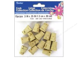 Darice Cork Stoppers #2 - 1/2 x 11/16 in. 15 pc.