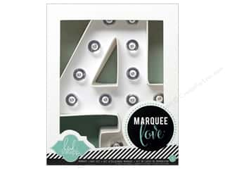 "Heidi Swapp Marquee Love Number Kit 8 1/2 in. ""4"""