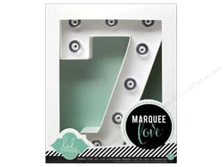 "Heidi Swapp Marquee Love Number Kit 8 1/2 in. ""7"""