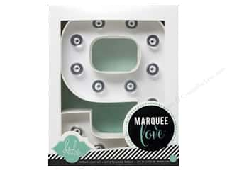"Heidi Swapp Marquee Love Number Kit 8 1/2 in. ""9"""