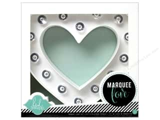 Everything You Love Sale: American Crafts Heidi Swapp Marquee Love Heart Kit 8 1/2 in.
