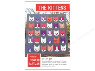books & patterns: Elizabeth Hartman The Kittens Pattern