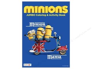 Minions Jumbo Coloring & Activity Book by Bendon