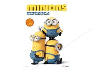 Minions Sticker Scene Plus Coloring & Activity Book by Bendon