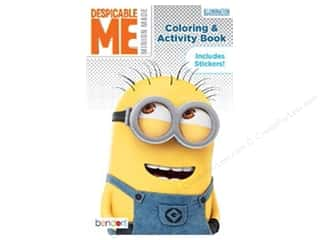 Bendon Coloring & Activity Book with Stickers Despicable Me Minion Made