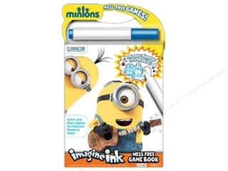 books & patterns: Bendon Imagine Ink Mess Free Game Book Minions