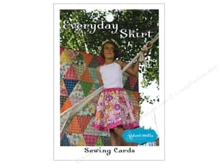 elastic: Stitchin' Post Everyday Skirt Sewing Card Pattern