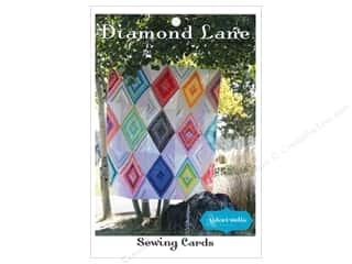 books & patterns: Stitchin' Post Diamond Lane Sewing Card Pattern