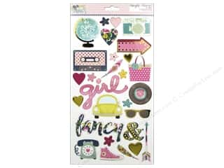 Simple Stories So Fancy Collection Sticker Chipboard Picture