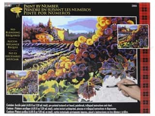 Projects & Kits: Plaid Paint By Number 20 x 16 in. Tuscan Harvest