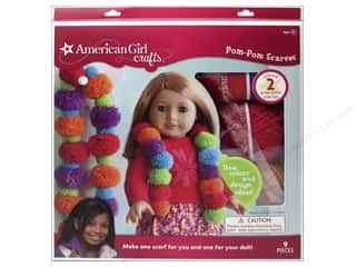 Clover Pom Pom Makers: American Girl Kit Pom Pom Scarves