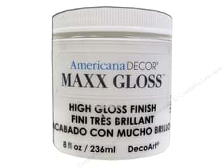 Decoart Americana Decor Maxx Gloss 8 oz. White China