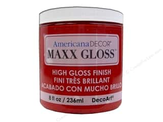 craft & hobbies: Decoart Americana Decor Maxx Gloss 8 oz. Candy Apple