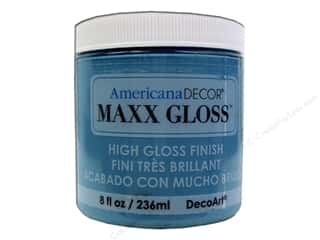 Decoart Americana Decor Maxx Gloss 8 oz. Caribbean Sea