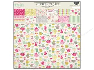 Authentique: Authentique 12 x 12 in. Paper Pad Infused Collection