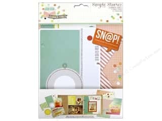 Simple Stories: Simple Stories Collection Summer Vibe Snap Pages