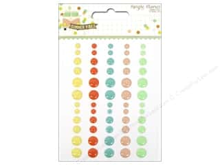 theme stickers  summer: Simple Stories Collection Summer Vibe Enamel Dots